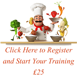 Click here to register and start your training, RoSPA approved and CPD Certifed online food hygiene course