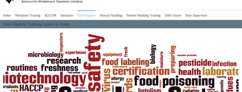 Food hygiene training course in Essex
